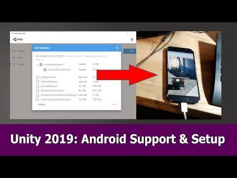Unity 2019 Android Support: Setup, SDK & NDK - Jayanam,mumclip com