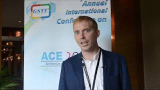 Mr. Ben Slee at ACE Conference 2015 by GSTF Singapore