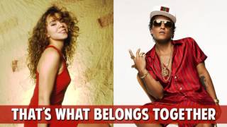 Mariah Carey & Bruno Mars - We Belong Together vs That's What I Like (MASHUP)