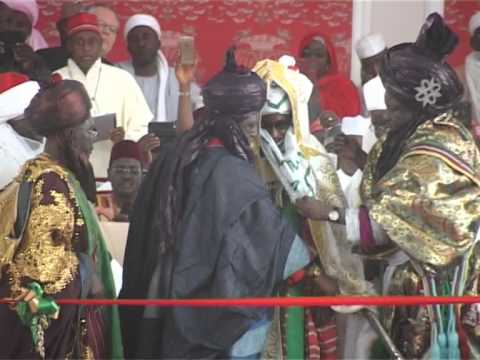 Sanusi Lamido Sanusi Has been Officially Crowned  As Emir of Kano