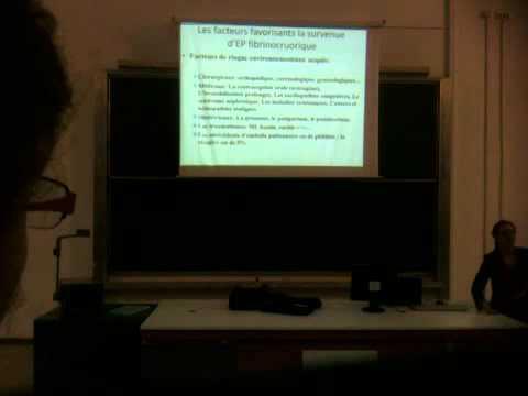 La thrombose la pathogénie la clinique le traitement