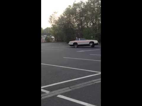 Oldsmobile cutlass on 3 wheels