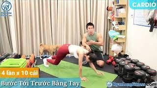 Bước Tới Trước Bằng Tay   Nữ   Junie HLV Ryan Long Fitness