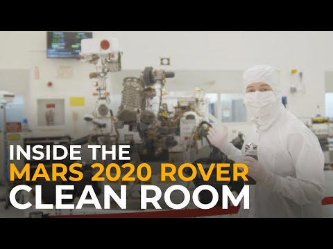 Inside the Mars 2020 Rover Clean Room