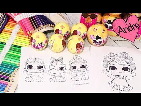 Dibujos Para Colorear De Muñecas Lol Juguetes Con Andre