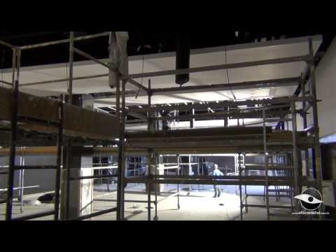 26/07/2013 - Por dentro da Obra - Forro, Banheiro e Cadeiras da Arena Corinthians