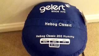 GELERT HEBOG CLASSIC SLEEPING BAG