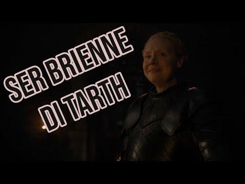 """""""Alzati, Ser Brienne di Tarth"""" [Game of Thrones S8 EP2]"""
