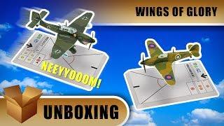 Wings Of Glory Unboxing: Hurricane & Stuka