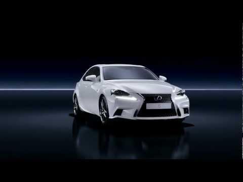 2013 Lexus IS300h - official video