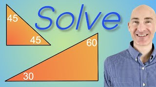 Special Right Triangles How To Solve
