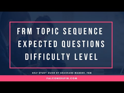 FRM PART I Self Study Guide Video May Nov 2019 - YouTube