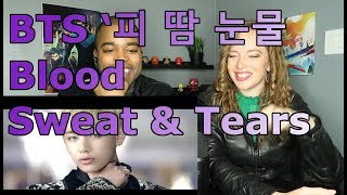 BTS (방탄소년단) '피 땀 눈물 (Blood Sweat & Tears) Official MV (REACTION 🔥