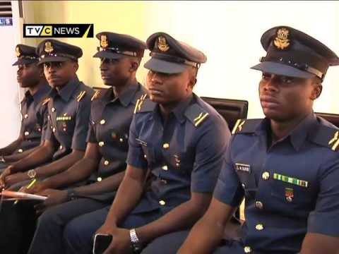 Nigerian Airforce graduates ten new Pilots