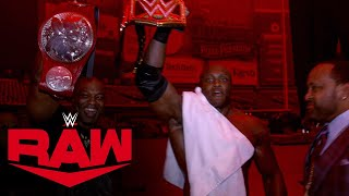 Video: The Hurt Business Celebrates Bobby Lashley's WWE Title Win