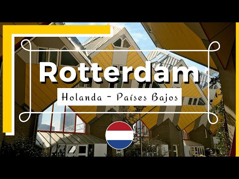 Rotterdam, ciudad en el río Mosa - Holanda - YouTube