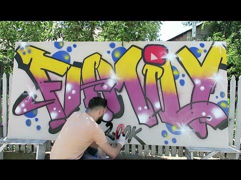 Am facut Graffiti ! ( Video Special Pentru 200,000 de Abonati ! )