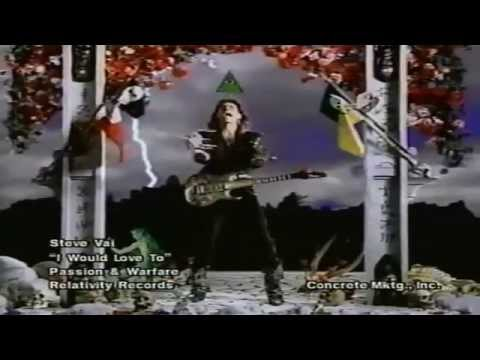 Steve Vai - I Would Love To (1990) (Enhanced)