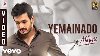 Mr. Majnu - Yemainado Telugu Video | Akhil Akkineni, Nidhhi | Thaman S