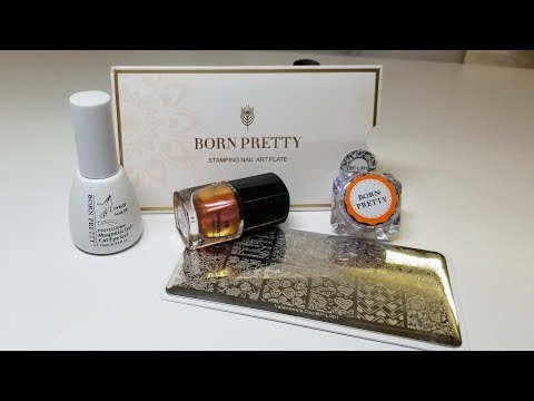 Born Pretty Review / Cat Eye Gel, Stamping Plate, Etc.....