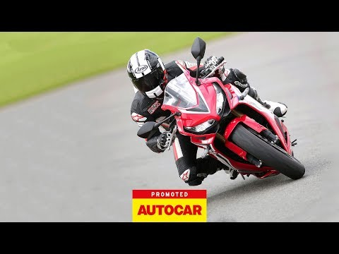 Isle of Man TT and Superbike presenter Matt Roberts recently visited the Ron Haslam Race School at Donington Park to review the New Honda CBR650R for Autocar magazine