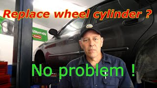Replace The Wheel Cylinder Without Removing The Brakes
