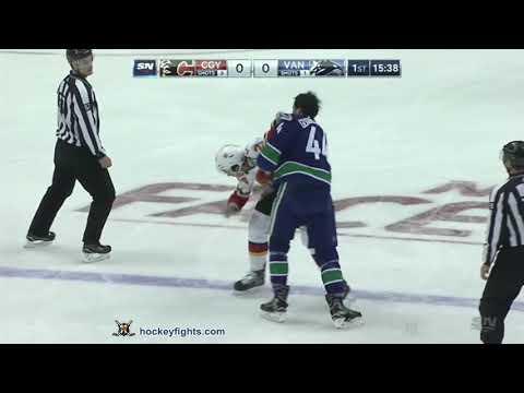 Erik Gudbranson vs. Travis Hamonic