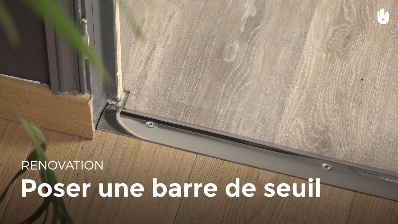 poser une barre de seuil diy les basiques du bricolage. Black Bedroom Furniture Sets. Home Design Ideas