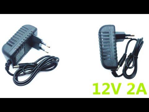 Адаптер питания 12V 2A 24W Power adapter