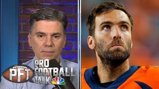 It's clear Joe Flacco was never the answer in Denver Broncos | Pro Football Talk | NBC Sports
