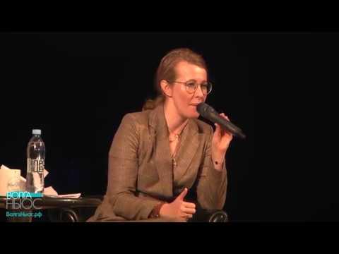 О чем самарцы спрашивали Ксению Собчак
