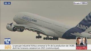 C'est Fini, L'A380 Ne Sera Plus Produit. Pourquoi Cet Avion A été Un échec Commercial