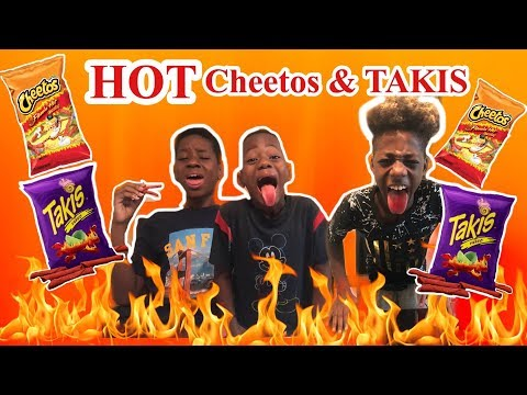 #letseat #whaaatupmelo  HOT CHEETOS AND TAKIS CHALLENGE (Whoever Wins First Gets $100)