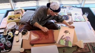 Ukiyo-e woodblock printmaking with Keizaburo Matsuzaki