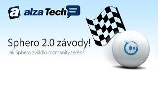 Sphero 2.0 závody: Jak Sphero zvládá rozmanitý terén? - AlzaTech #408