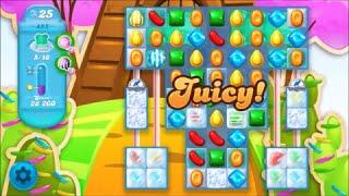 Candy Crush Soda Saga Level 485 - No boosters