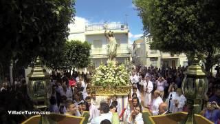 preview picture of video 'Villa de Tronos. Domingo de Resurrección en la Villa de Turre'