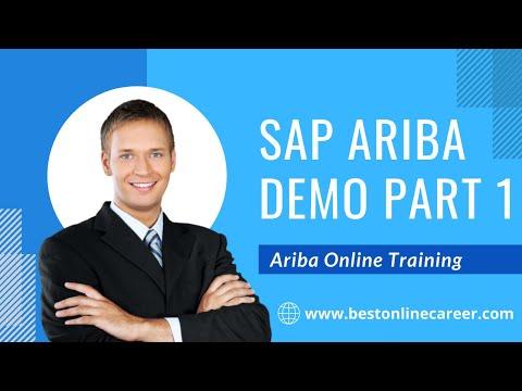 SAP Ariba Online Training Demo Part 1   SAP Ariba Training Video ...
