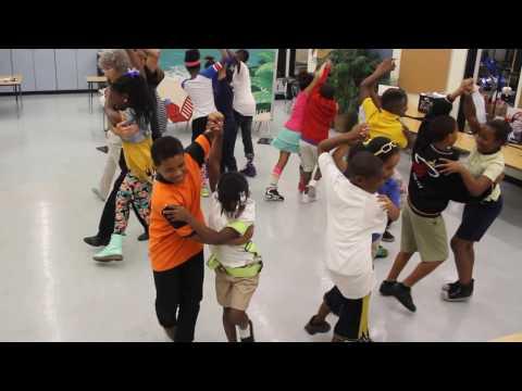 My 5th grade BallroomCafé  class ~ Miami-Dade public school