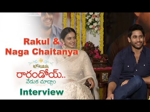 Rarandoi Veduka Chuddham Team Interview