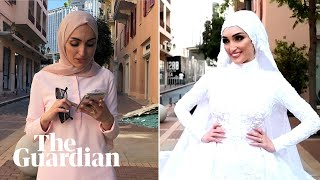 Beirut Bride Describes Moment Explosion Hit During Photoshoot: We Are Still In Shock