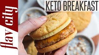 Breakfast Meal Prepping For Ketogenic Diet - Keto Breakfast Ideas