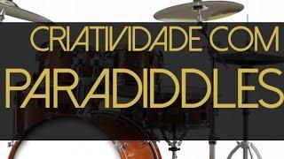 Como estudar Paradiddles de maneira musical na bateria