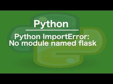 Python Import Error: No module named tkinter Solution - смотреть