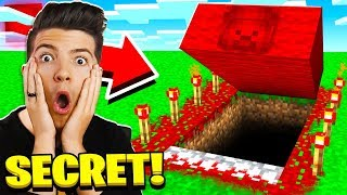 I Found Red Steve's Secret Minecraft House!