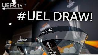 2020/21 UEFA Europa League quarter-final and semi-final draws