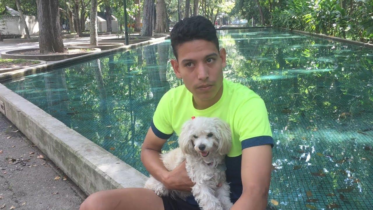 Su perro le permitió superar una crisis familiar y despertó su vocación de servicio