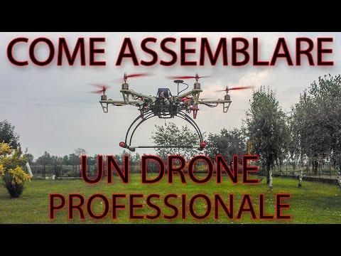 Come assemblare un drone professionale per riprese (Esacottero)