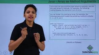 Java - Array as Method Arguments