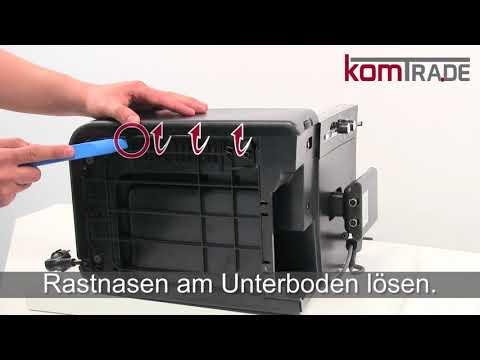 Siemens EQ.5 Serie Reparaturanleitung Gehäuse öffnen-schließen